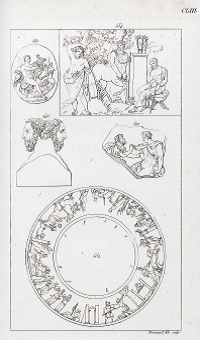 Figure 3 - Aubin-Louis Millin, Galerie mythologique (...), Paris, 1811, t. 2, n° 577, pl. CLIII.